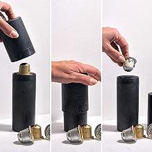 Coffee out - Utensilio domestico para el Vaciado y Reciclado de Las capsulas de Cafe de Aluminio, compatibles con NESPRESSO*.