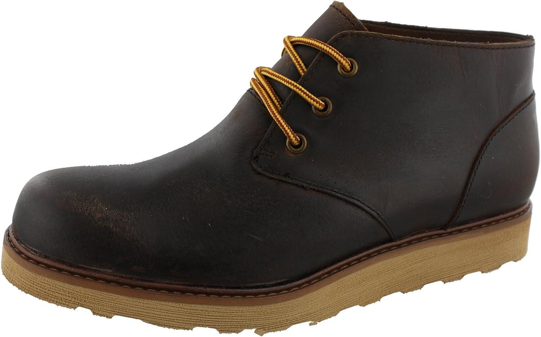 Goodwin Tan Leather Chukka Boots