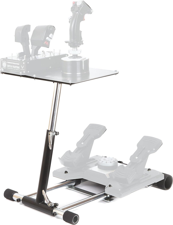 Wheel Stand WSPWarthog - Pro DELUXE V2 soporte de joystick para Thrustmaster HOTAS WARTHOG, Saitek X55 / X52 (PlayStation 3)