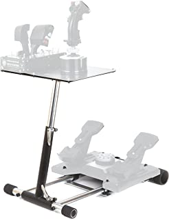 Wheel Stand Pro Warthog Compatible With Thrustmaster HOTAS WARTHOG™, Saitek X -55/56, X52/X52Pro, Pro Flight Rudders and MGF Crosswind - Deluxe V2. Wheelstand Only. Flight Stick/Rudders Not included.