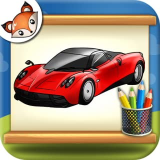 How to Draw Super Cars Step by Step Drawing App