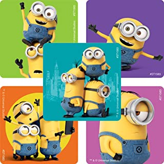 SmileMakers Minions Stickers - Prizes 100 per Pack