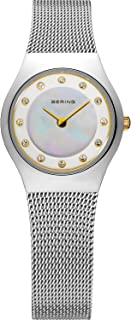BERING Time 11923-004 Womens Classic Collection Watch with Mesh Band and Scratch Resistant Sapphire Crystal. Designed in Denmark.