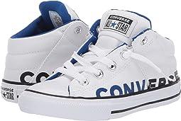 White/Blue/White