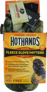 Heatmax Heated Fleece Mittens