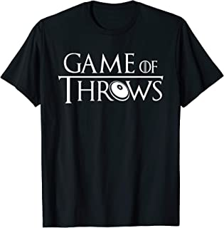 Game Of Throws Discus Throw Funny Track And Field Sport T-Shirt