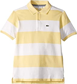 Bicolor Striped Pique Polo (Infant/Toddler/Little Kids/Big Kids)
