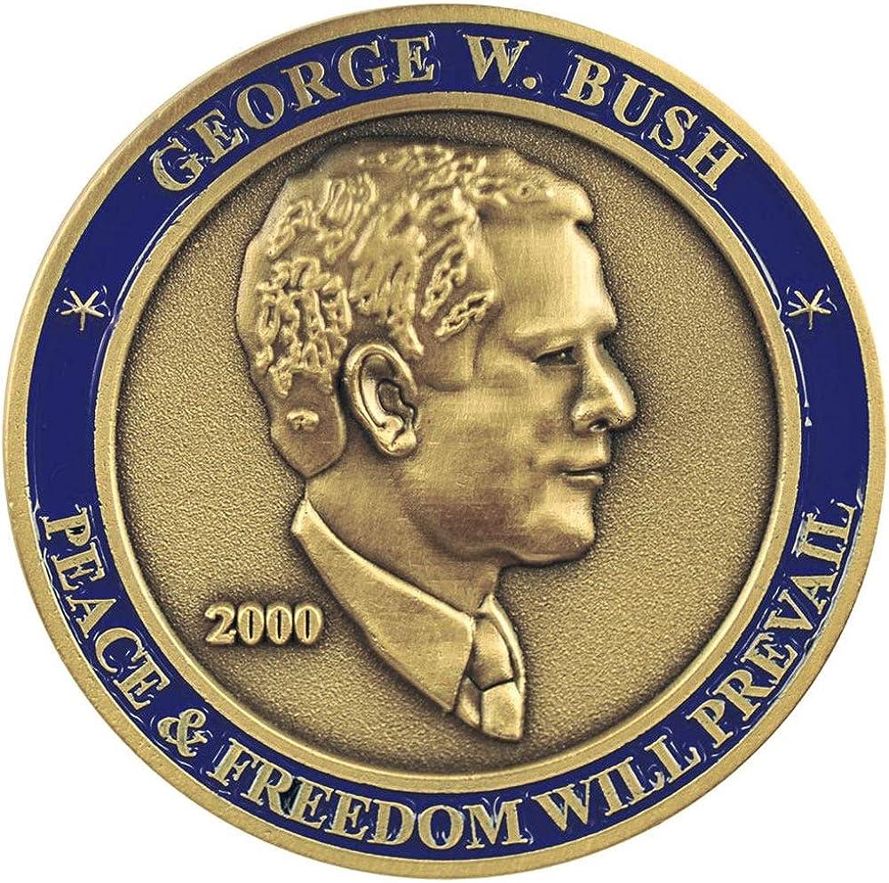 President George W Challenge Bush Luxury goods Coin Ranking TOP17