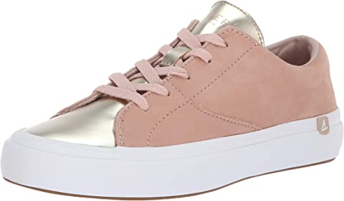 Sperry Top-Sider Wohommes Haven Lace Lace Lace Up Metallic paniers, Rose or, 7 M US 1a1
