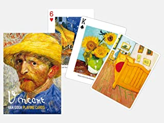 Piatnik | Playing Cards | Single Deck Set | Masterpieces | 2.6 x 0.8 x 3.6 inches | 55 Playing Cards in Tuck Box | Individual Front and backdesign | Made in Austria