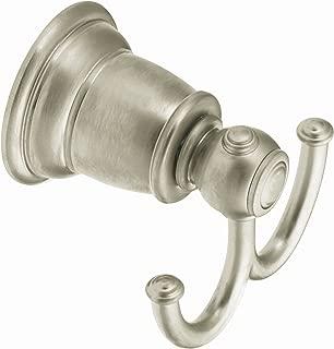 Moen YB5403BN Kingsley Double Robe Hook, Brushed Nickel