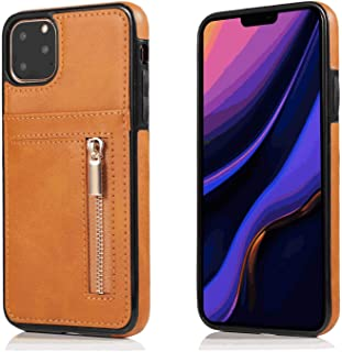 Leather Cover Compatible with Samsung Galaxy S9 plus, brown Wallet Case for Samsung Galaxy S9 plus