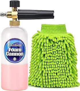 Blisstime Snow Foam Lance Car Wash Pressure Washer Jet Wash 1/4