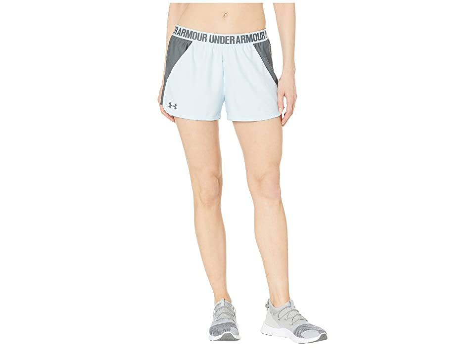 Under Armour New Play Up Shorts (Coded Blue/Pitch Gray/Pitch Gray) Women's Shorts