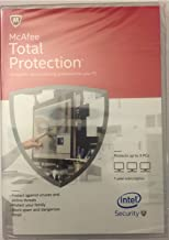McAfee Total Protection (Protects up to 3 pcs)