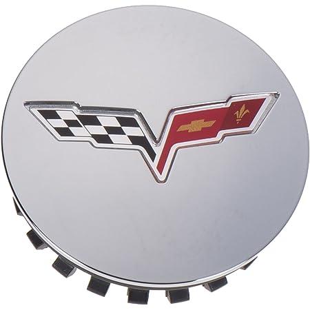 OEM NEW Wheel Hub Center Cap Chrome w/Flag Logo 08-13 Chevrolet Corvette 9597834