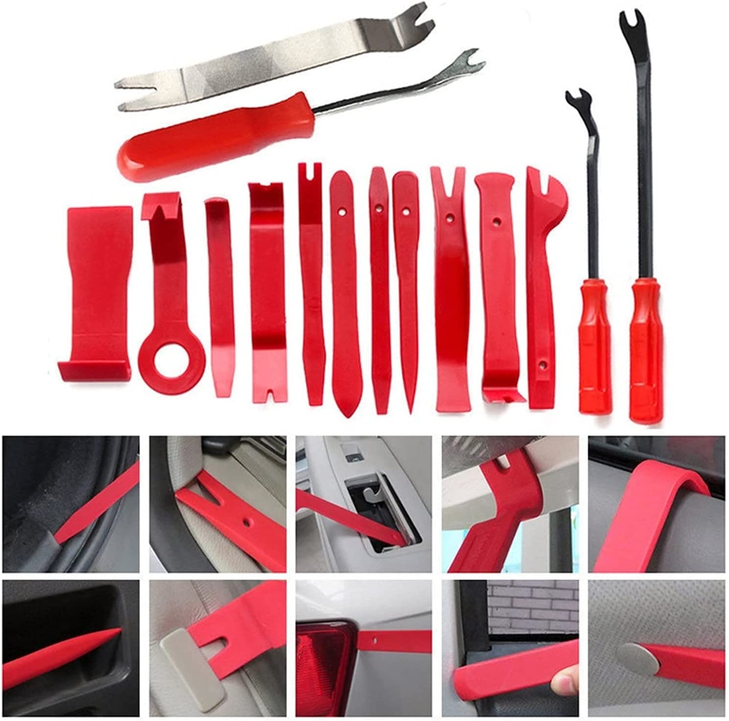 Eif Genuine Free Shipping Feifei Max 58% OFF 15pcs Audio Installer Car Door Removal Tools Open Cli
