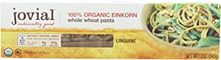 Jovial Organic Whole Wheat Einkorn Linguine, 12-Ounce Packages (Pack of 6)