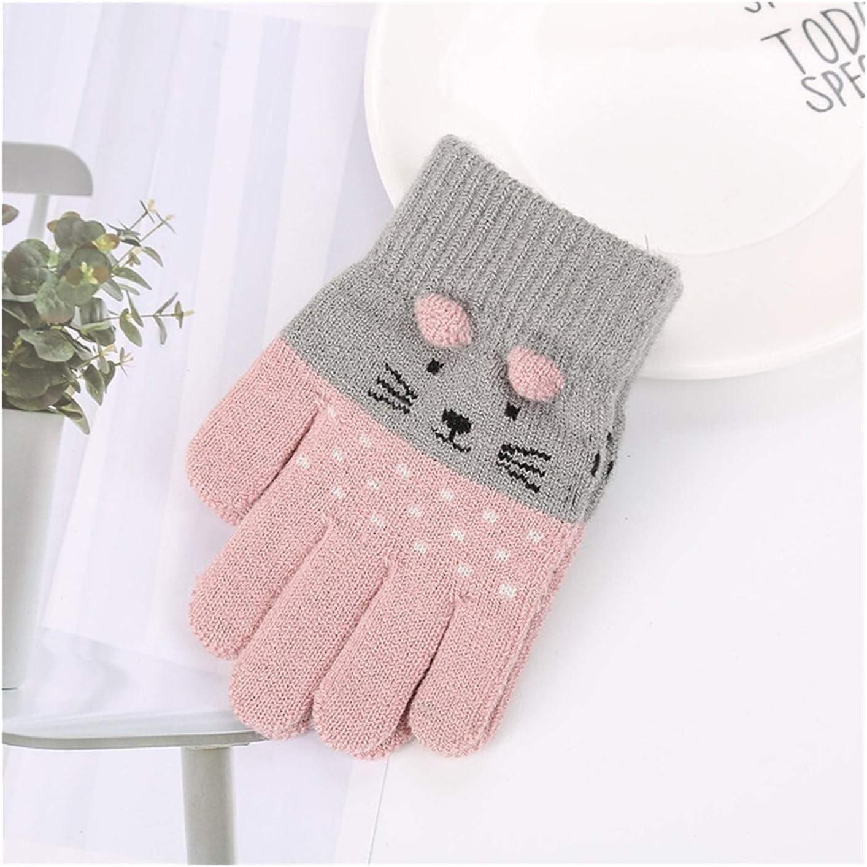 JBIVWW Children Kids Boys Girls Gloves Warm Manufacturer regenerated product Import Cute Cartoon Winter