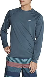 Men's UV Swim Shirt Easy Long Sleeve Regular Fit
