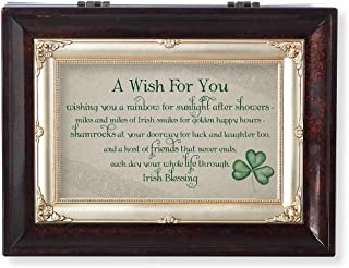 Roman Wish for You Brown Large Insert Music Box