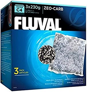 Fluval C4 Zeo-Carb (Pack of 3)