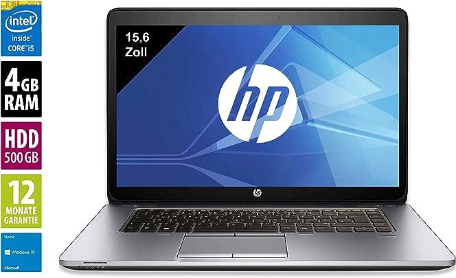 HP Elitebook 850 G2 Notebook Laptop 15 6 Zoll 1920x1080 Intel Core i5-5200U 2 2 GHz 4GB DDR3 RAM 500GB HDD Windows 10 Home Zertifiziert und General berholt Schätzpreis : 379,00 €