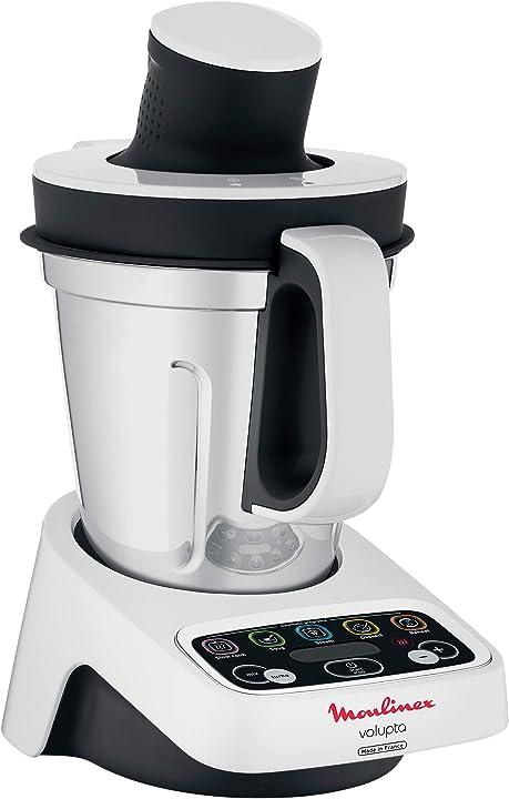 robot da cucina 3 L Moulinex volupta l nero, bianco HF4041