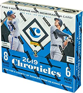 panini chronicles baseball