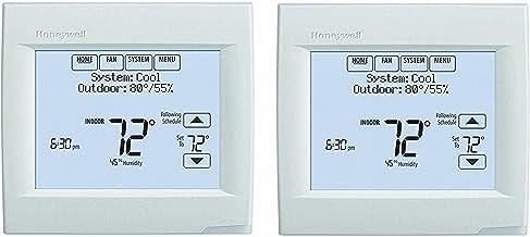 Honeywell TH8321WF1001 Wifi Vision Pro 8000 met Stages tot 3 warmte/2 Cool (2 stuks)
