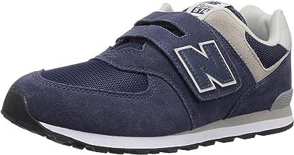 New Balance Kids' Boy's 574v1 Evergreen Hook and Loop Sneaker