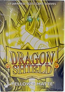 Arcane Tinman Sleeves: Dragon Shield Matte Japanese Yellow (60)