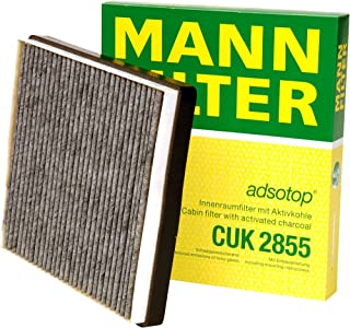 Mann-Filter CUK 2855 Cabin Filter With Activated Charcoal for select Volvo models