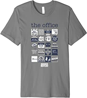 The Office Quote Mash-Up Funny Official Tee Gift Premium T-Shirt