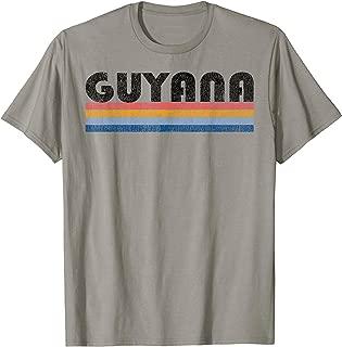 Vintage 1980s Style Guyana T-Shirt