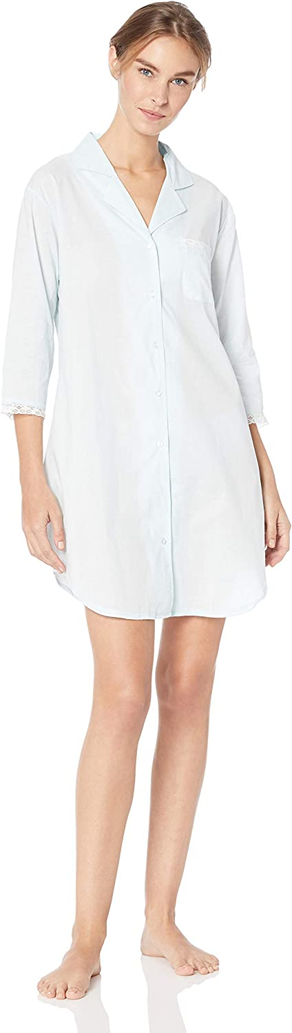 Casual Moments Women's Cotton Sleepshirt