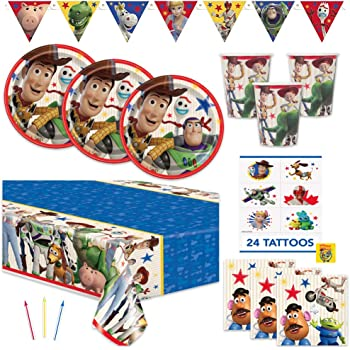 Disney Toy Story Dangling Birthday Party Room Decorations Pack of 3