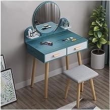 Makeup Desk with Drawers for Bedroom Makeup Dresser, Flip Top Mirror Large Storage Space Drawers, Bedroom Furniture Christ...