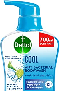 Dettol Cool Showergel & Bodywash for effective Germ Protection & Personal Hygiene (protects against 100 illness causing ge...