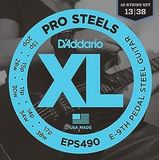 D'Addario EPS490 Pedal Steel Strings, E-9th