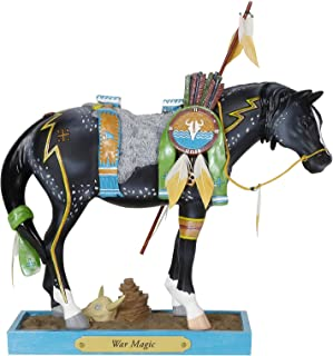 """Enesco Trail of Painted Ponies """"War Magic, 7.8"""" Stone Resin Figurine, 7.8 Inches, Multicolor"""