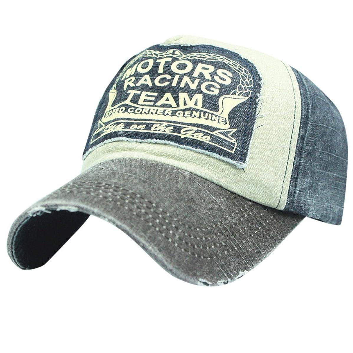 Baseball Cap, Koolsants Fashion Embroidery Motors Racing TEAN Style Washed Adjustable Breathable Cotton Dad Hat Women Men