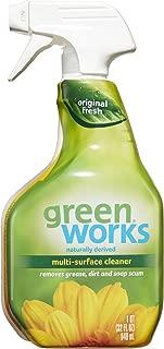 Green Works Multi-Surface Cleaner, Spray Bottle, Original Fresh, 32 oz (1)
