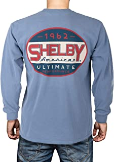Shelby Ultimate Performance Blue Jean Long Sleeve Tee T-Shirt | Officialy Licensed Shelby Product | 100% Cotton