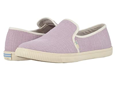 TOMS Clemente (Burnished Lilac Heritage Canvas) Women