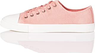 Marque Amazon - find. - V1241A - Lace Up Baseball - Sneakers Basses - Femme
