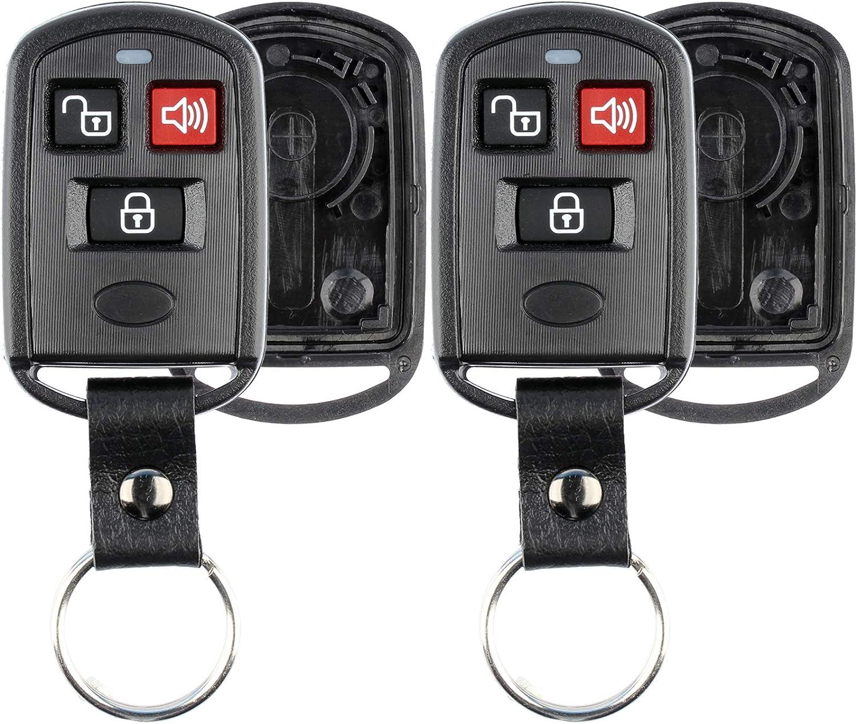 KeylessOption Keyless Entry Remote Milwaukee Mall Key Case Pad Shell Fob lowest price Button