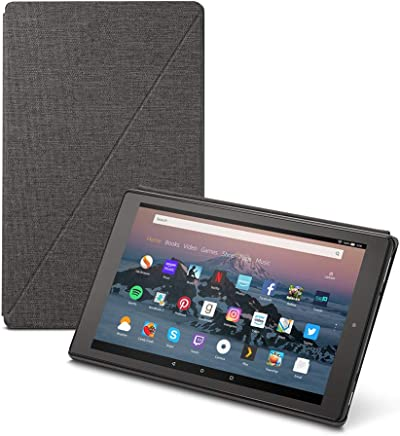 Amazon Fire HD 10 Tablet Case (7th Generation, 2017 Release), Charcoal Black