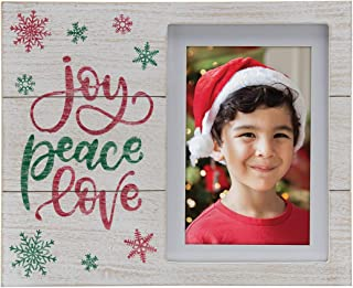 Fine Photo Gifts Joy Peace Love Winter Christmas Picture Frame