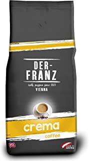 comprar comparacion Der-Franz - Café Crema con certificación UTZ, en grano, 1000 g
